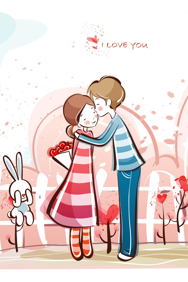 640x960 Kiss Clipart Night Kiss