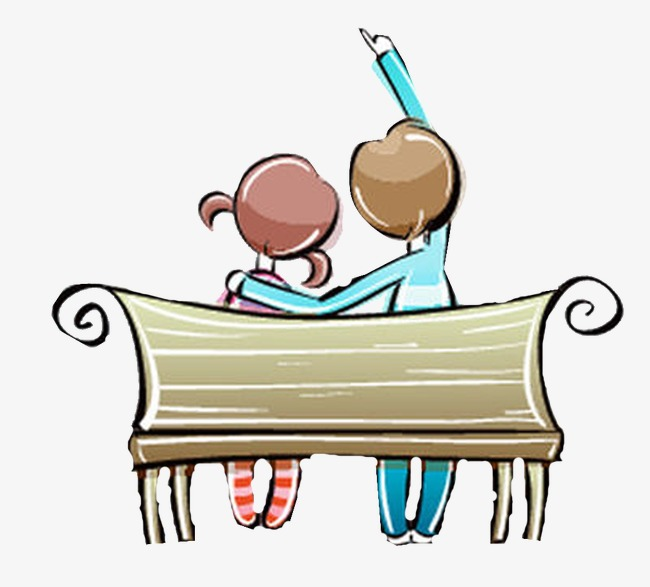 650x587 Beautiful Exquisite Cartoon Cute Couple Chairs Valentine