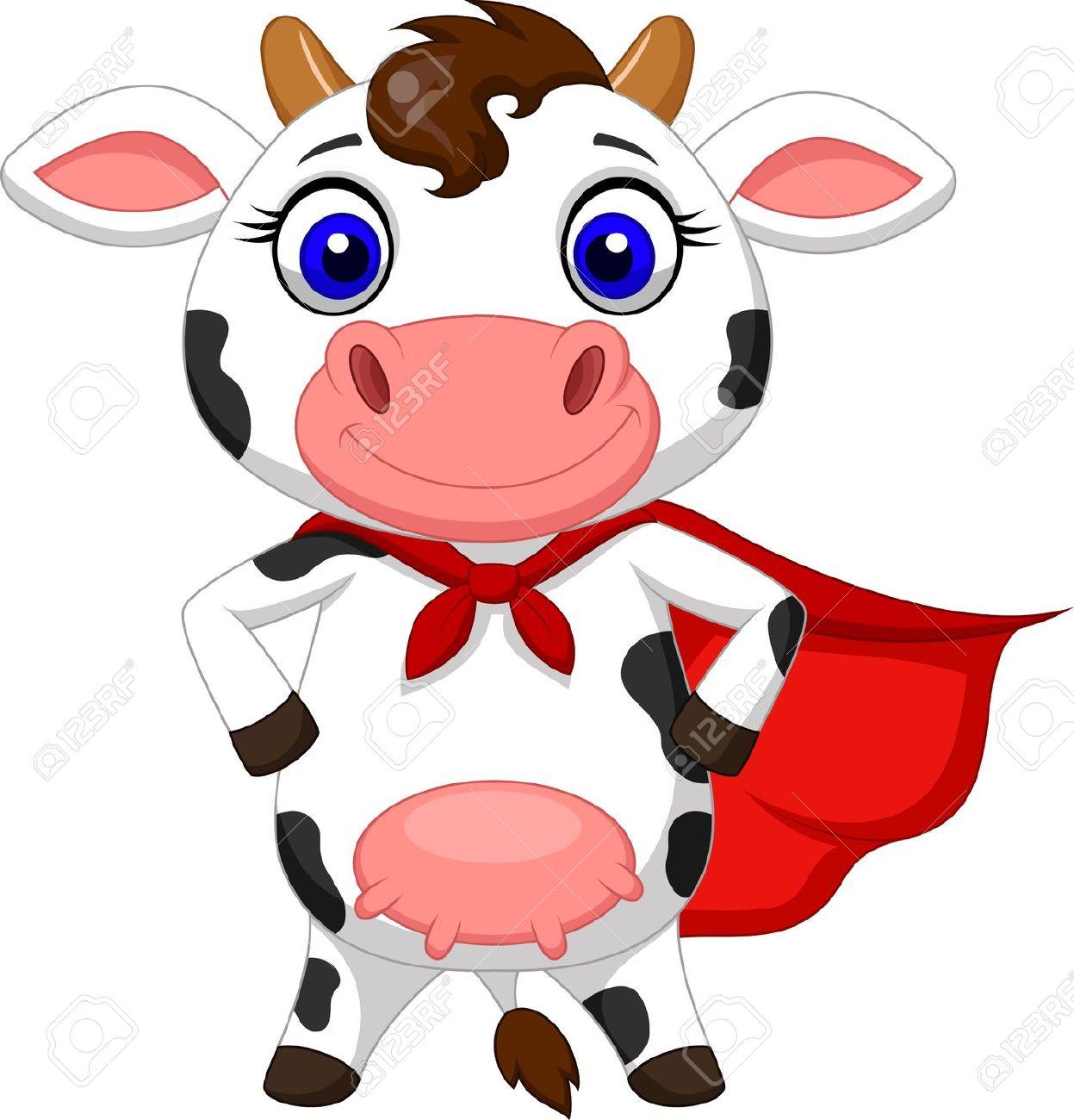 1247x1300 Clip Art Cow Cartoon Clip Art