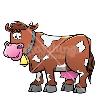 355x370 Cow Cartoons
