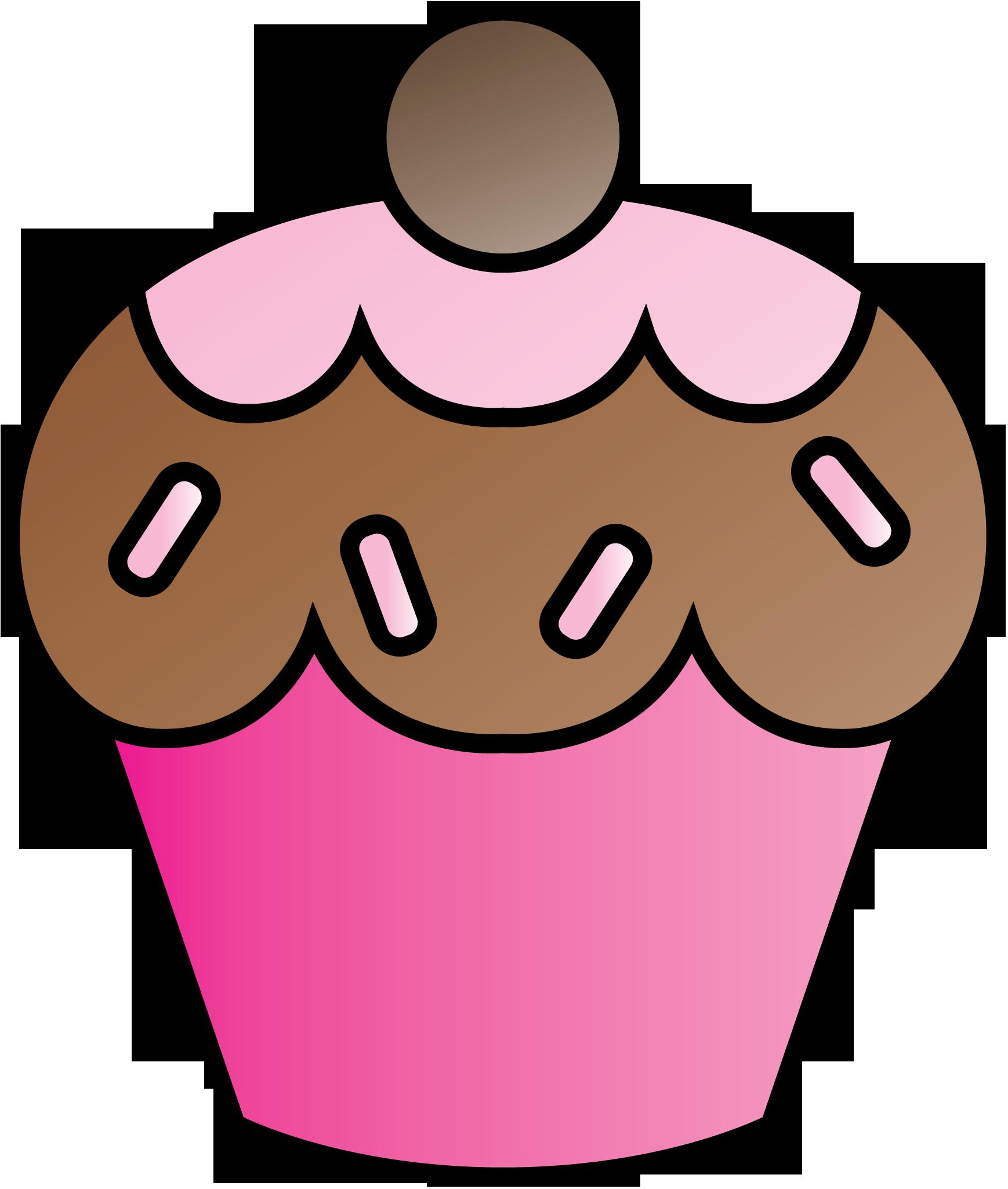 1738x2050 Cute Cupcake Clipart Freebie.