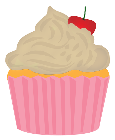 438x531 Collection Of Vanilla Cupcake Clipart High Quality, Free