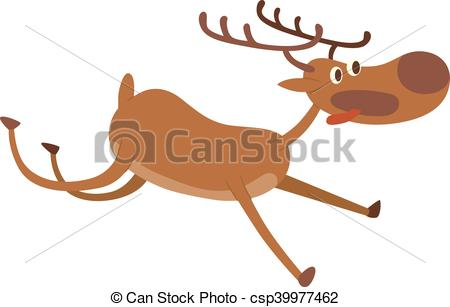 450x307 Cartoon Deer Vector Character. Cute Deer Cartoon Comic Wild