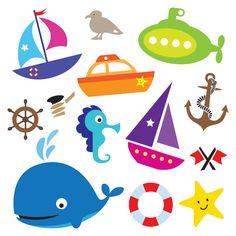 236x236 Sea Creatures Clip Art