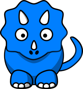 276x299 Cute Dinosaur Free Clipart Images