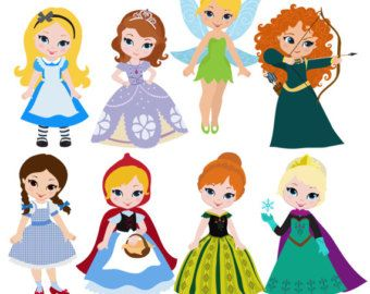 Cute Disney Princess Clipart