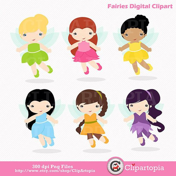 570x570 Fairies Digital Clipart Fairy Digital Clip Art By Clipartopia