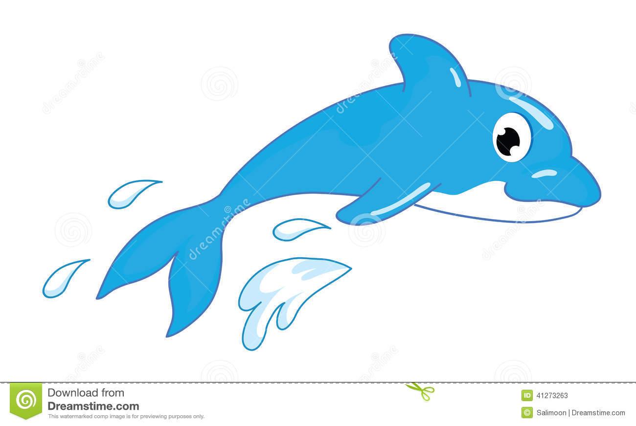 1300x871 Dolphin Clipart Real.illustrator Of Cute Dolphin Stok Vekt