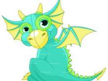 220x165 Baby Dragon Clipart Cute Dragon Clipart Ba Dragon Royalty Free