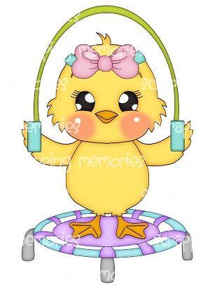 Cute Duck Clipart
