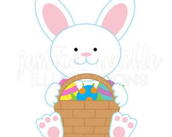 340x270 Bunny Bunch Cute Digital Clipart Easter Bunny Clip Art