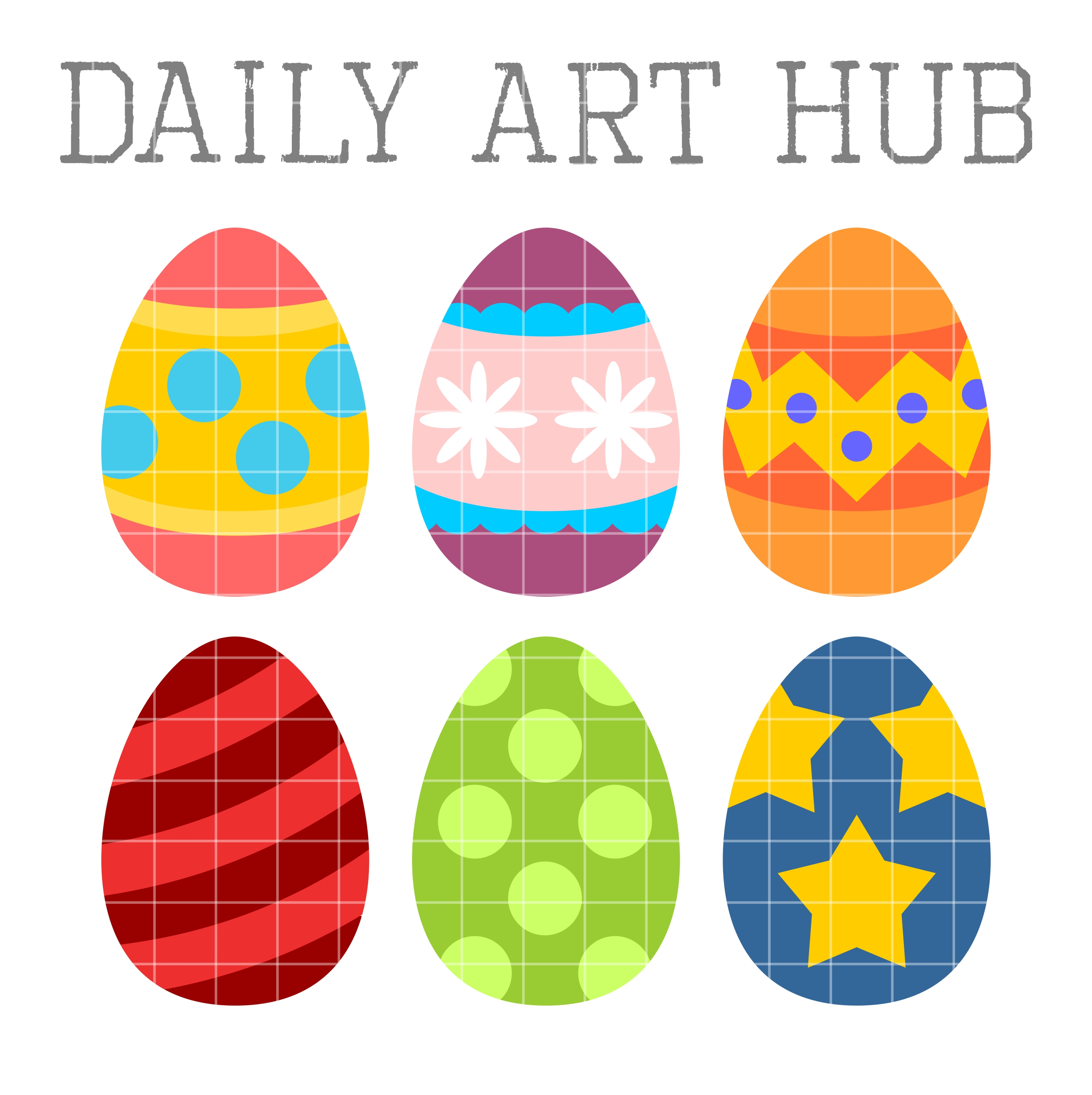 2664x2670 19 My Cute Graphics Easter Eggs Images