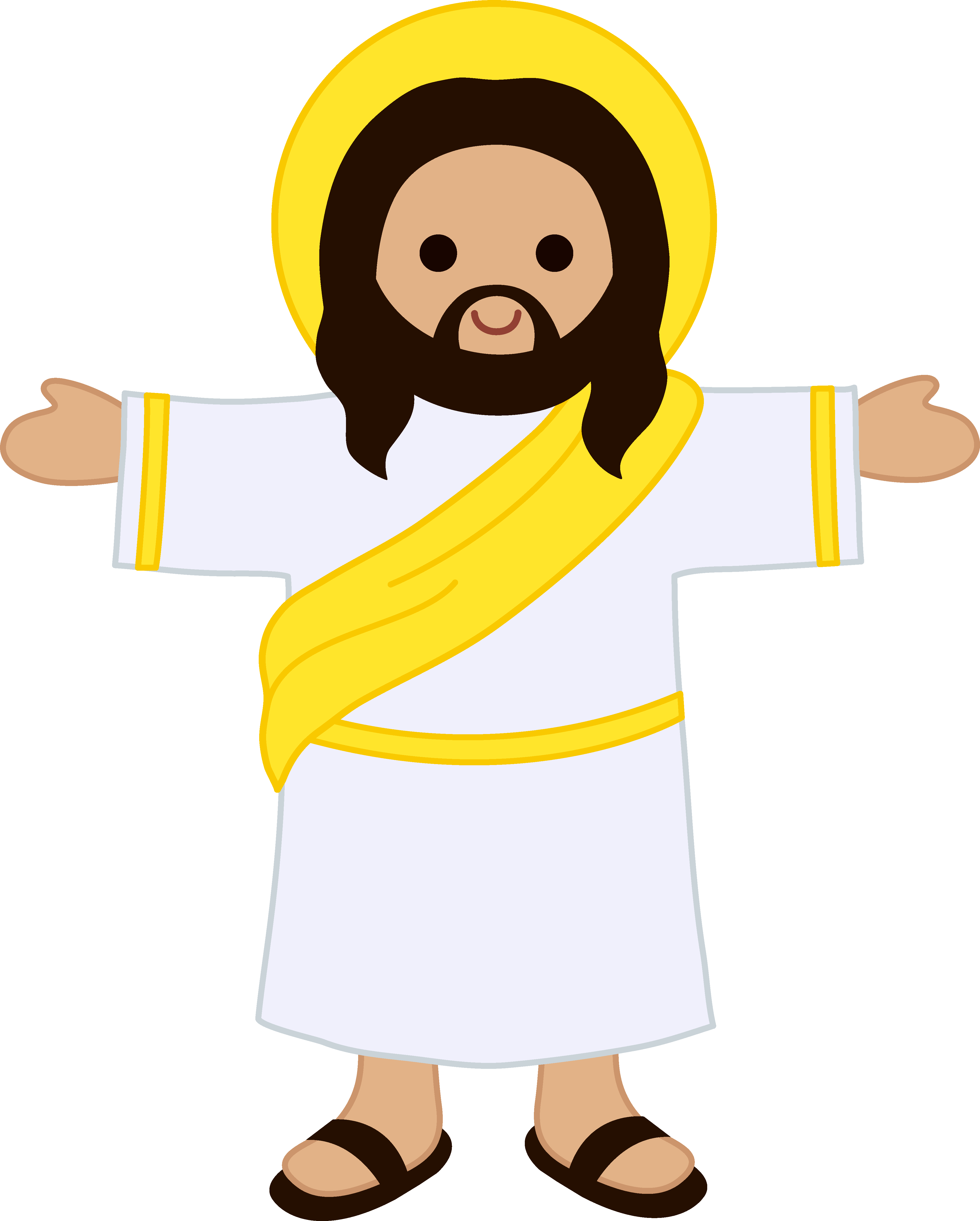 4110x5120 Easter Jesus Clipart Merry Christmas And Happy New Year 2018