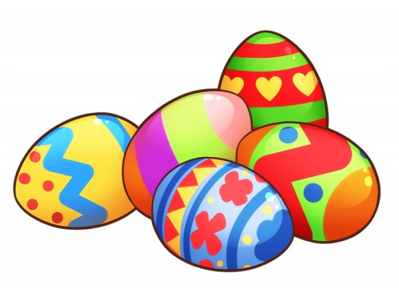 800x600 Modest Decoration Easter Egg Clipart Cute Eggs Set Clip Art Hunt