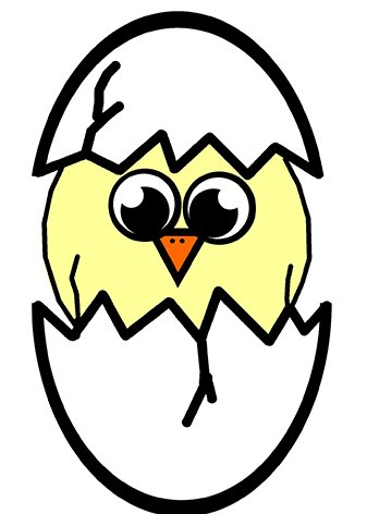 337x472 Chicken And Chick Clipart Fresh Funny And Cute Easter Clip Art