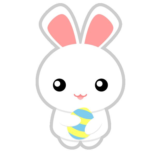 600x600 Cute Easter Bunnies Clip Art Hd Easter Images