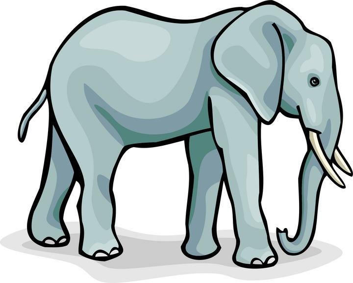 720x577 Elephant Clip Art