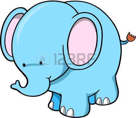 450x390 Pretty Design Cute Elephant Clipart Image Giraffe Elephant Clip