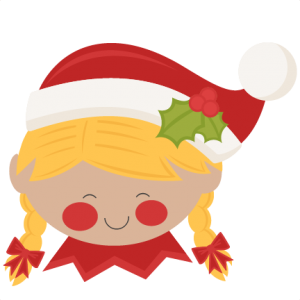 300x300 Christmas Elf Girl Svg Scrapbook Cut File Cute Clipart Files