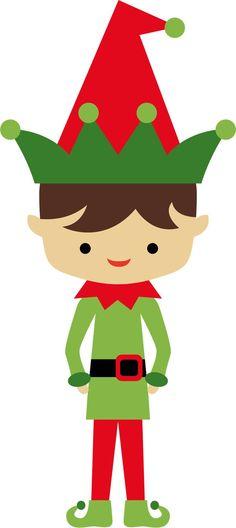 236x528 Cute Christmas Elf With Sign Christmas Clip Art 2