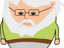 220x165 Old Man Clipart Clipart Of Confused Old Man K18263105 Search Clip