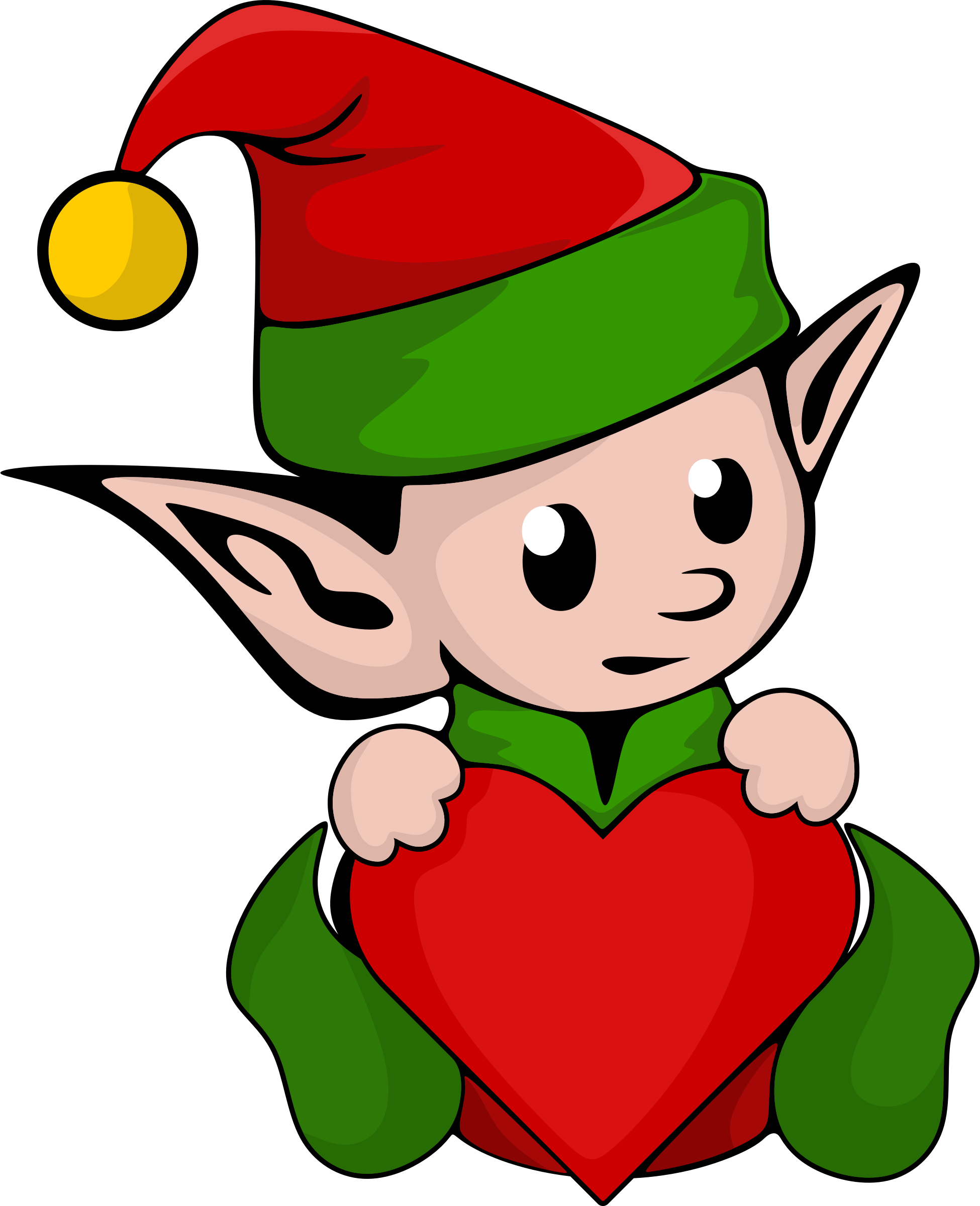 1950x2400 Collection Of Elf Clipart Transparent High Quality, Free