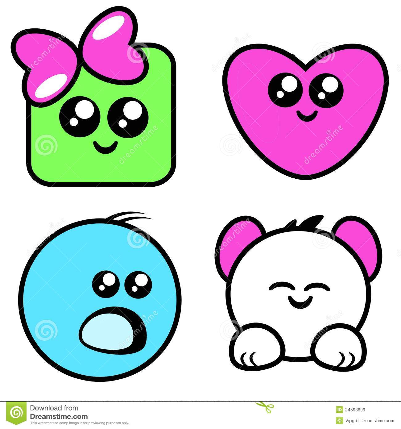 Cute Eyes Clipart