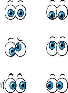 220x300 Cute Cartoon Eyes How To Draw Cartoon Eyes Ideas Para