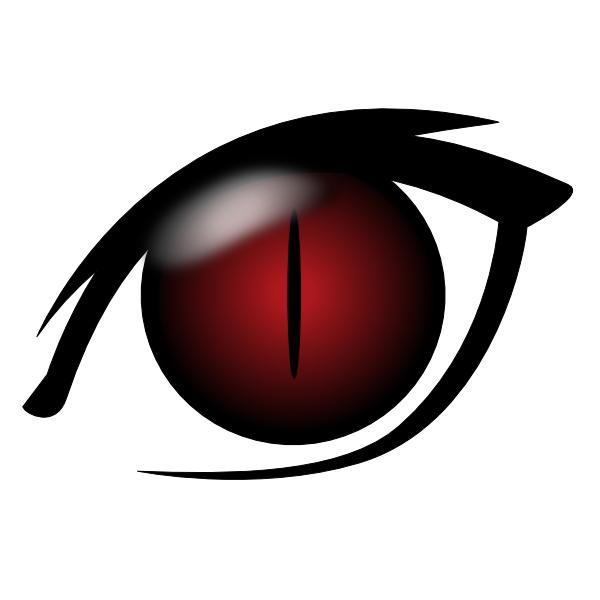 600x600 Devil Eye Clip Art