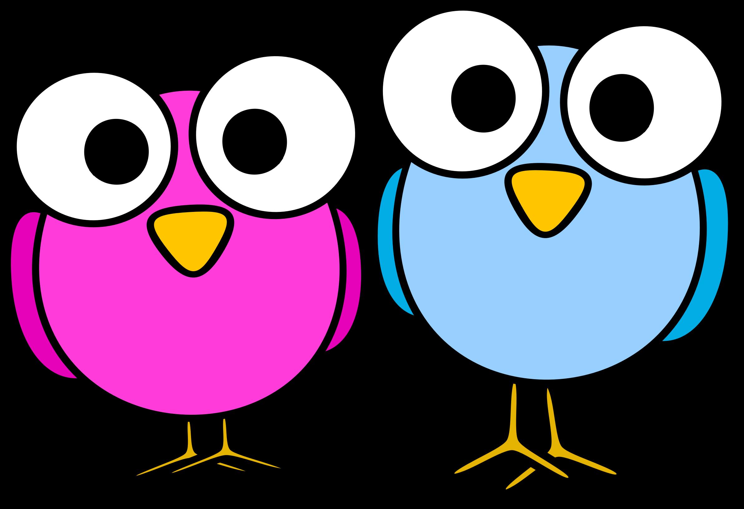 2384x1631 Googley Eye Birdies Icons Png