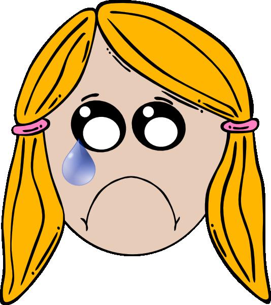 534x600 Lady Cute Sad Clip Art