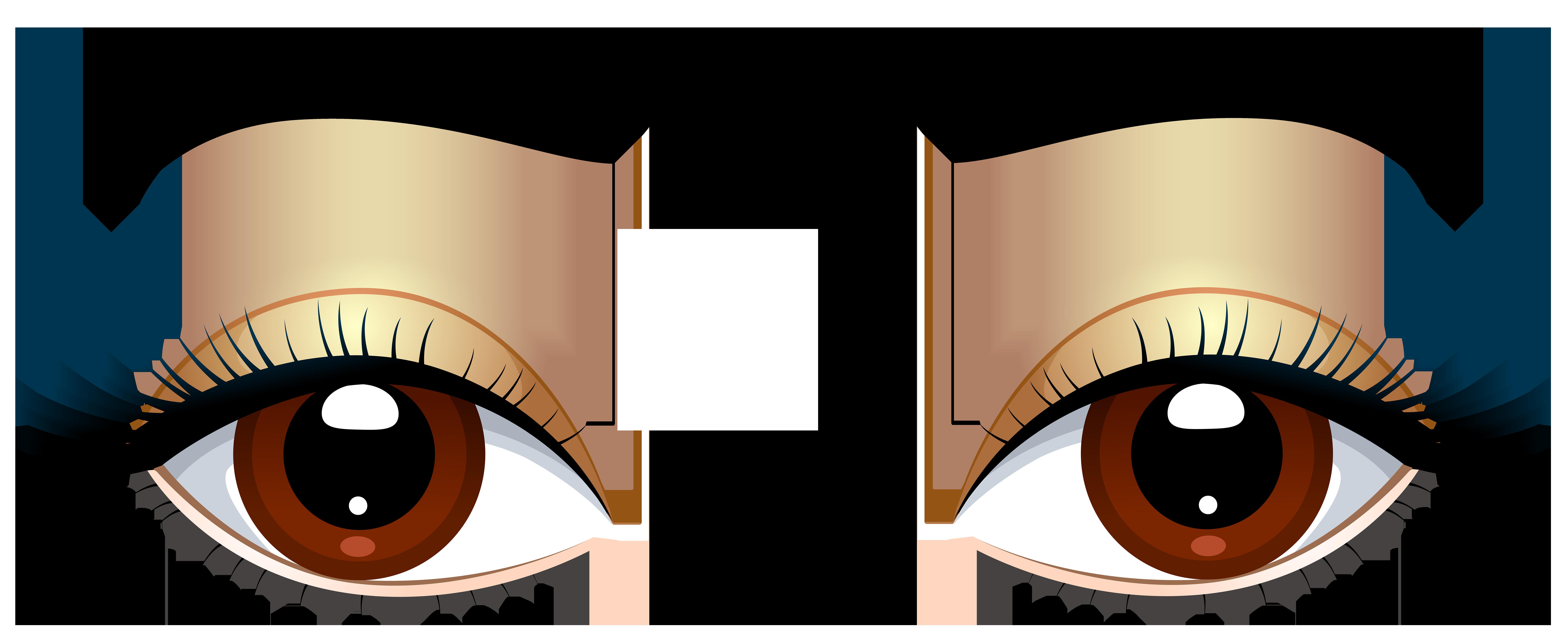 8000x3219 Pleasant Eyes Clipart Big Cartoon Free Download On Png Clipartix