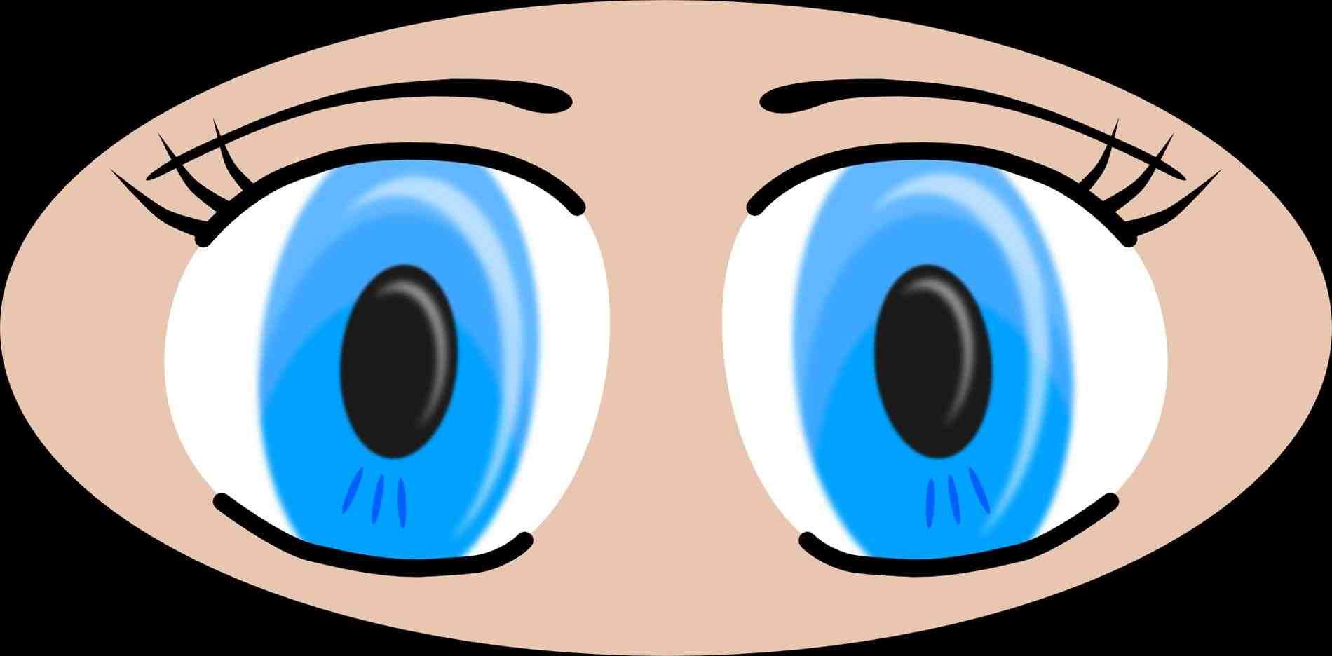 1900x936 Big Cute Eyes Clipart