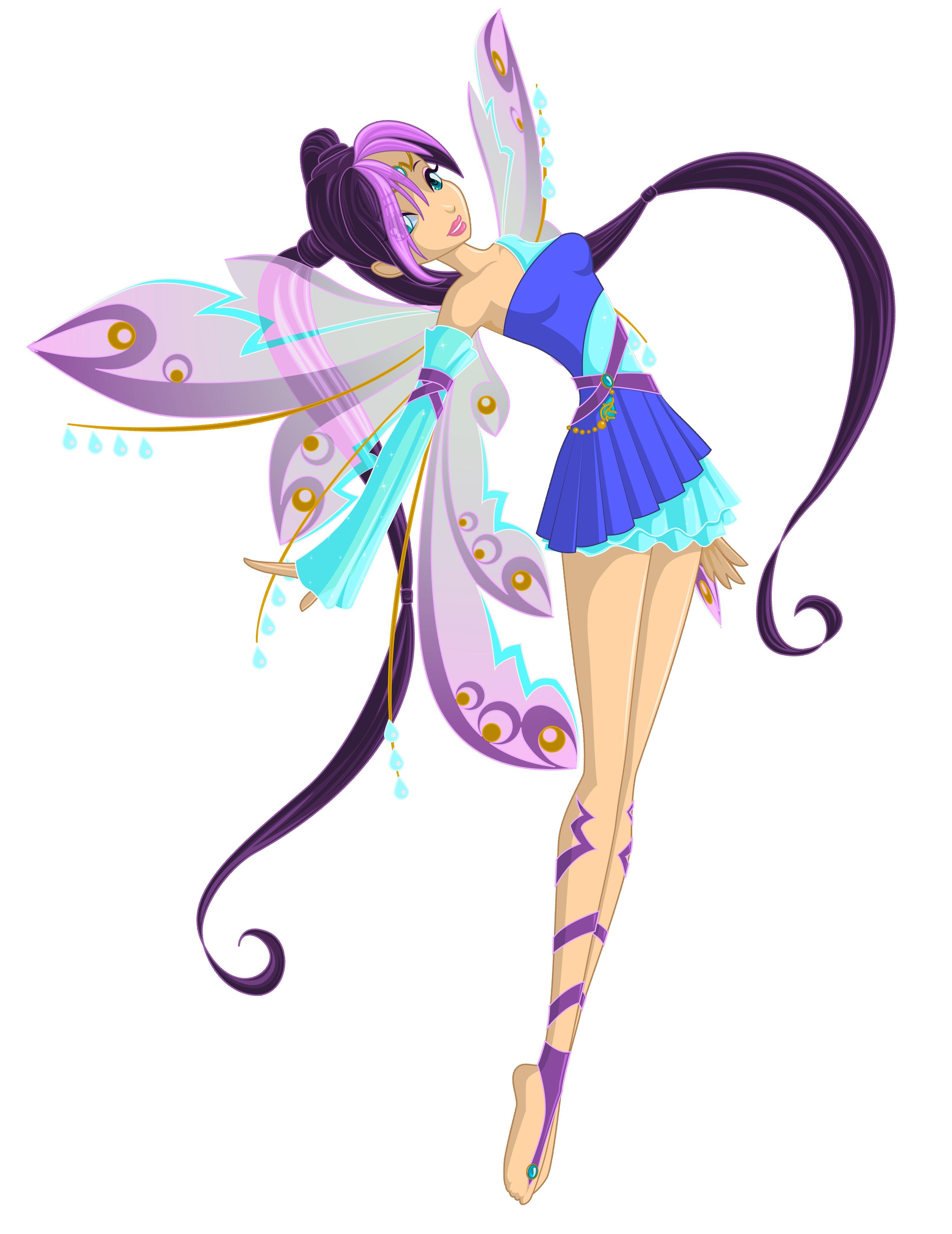 3218x4172 Free Fairy Clipart