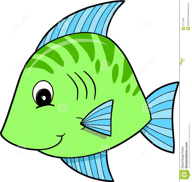 1370x1300 Cute Green Fish Vector Elementary Math Free