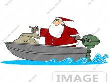 220x165 Santa Fishing Clipart Christmas Image Of Fishing With Fish