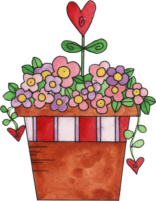 513x657 Valentine Flowers Clip Art Bouquet Clipart Valentine Rose 8