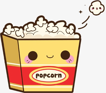 420x371 Cute Popcorn, Lovely Food, Japanese Cute Food, Popcorn Png Image