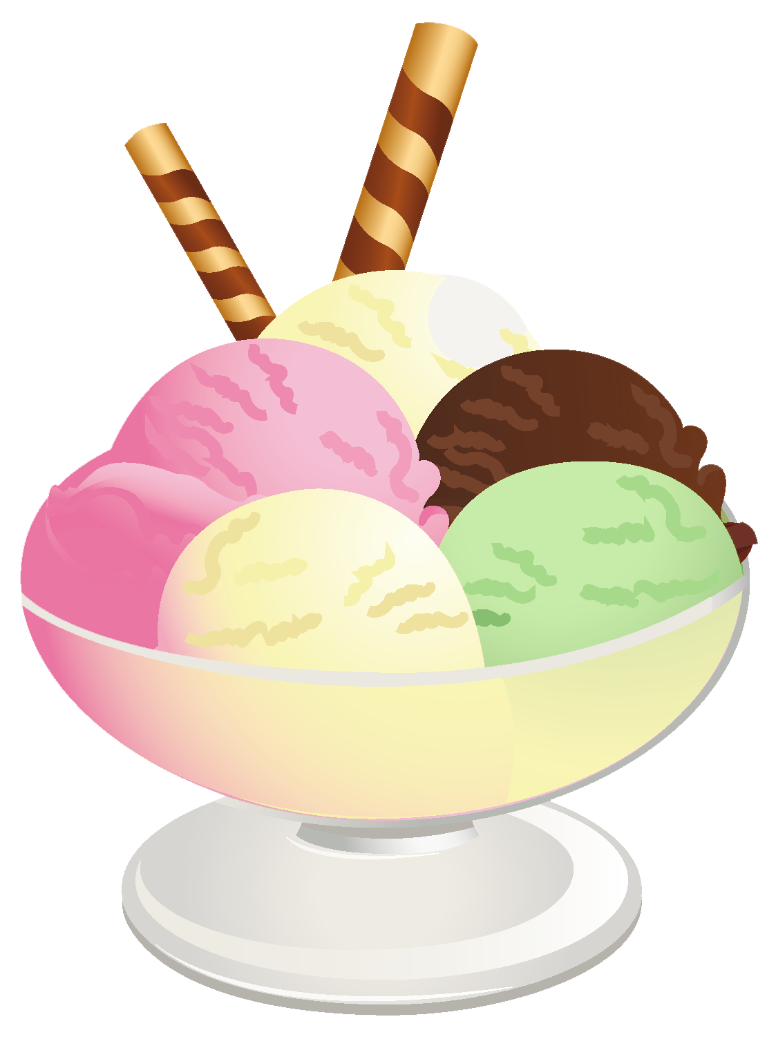 1123x1504 Ice Cream Sundae Png Picture Scrap Digital Clip