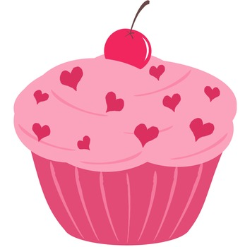347x350 Image Of Cupcake Clipart