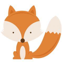 236x236 Fox Doodle Fox Clip Art Instant Download Png Eps Jpeg By Handmek
