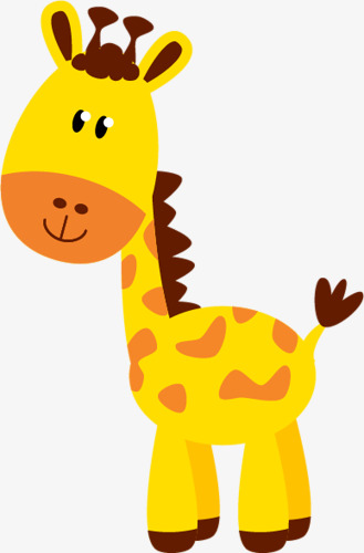329x500 Cute Giraffe, Zoo, Animal Giraffe, Cartoon Giraffe Png Image