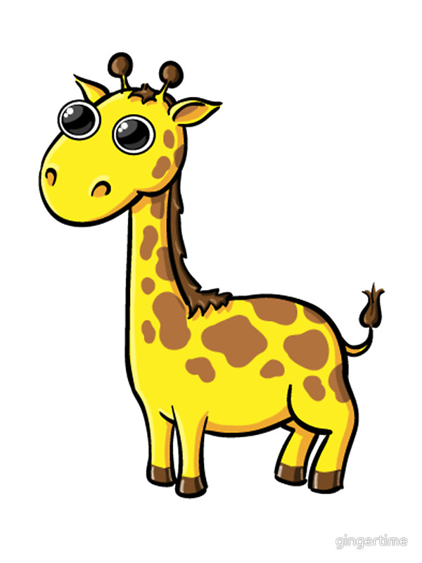 600x800 Giraffe Clipart For Kids