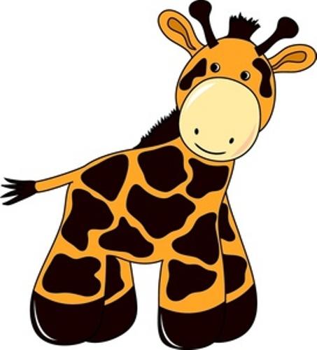 453x500 Giraffe Clipart For Kids