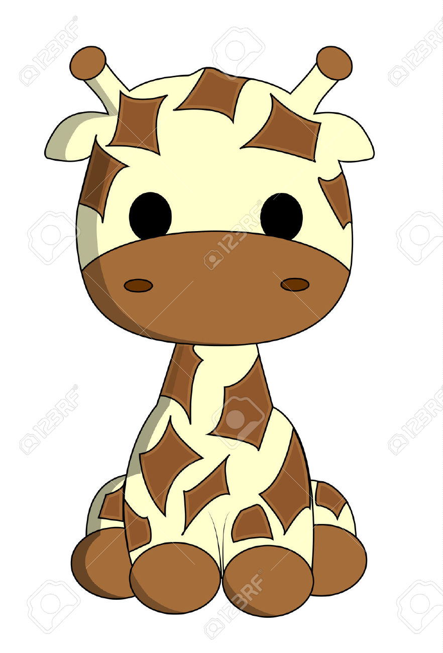 882x1300 How To Draw A Cute Giraffe Giraffe Drawing Cliparts Free