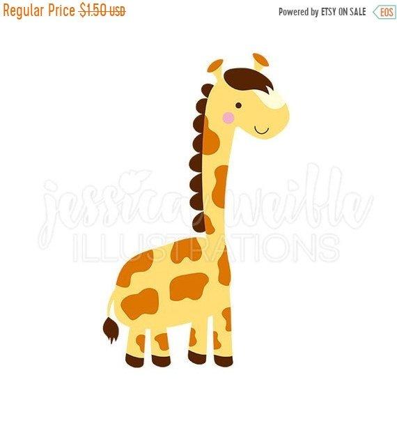 570x604 On Sale Lil Giraffe Cute Digital Clipart, Cute Giraffe Clip Art