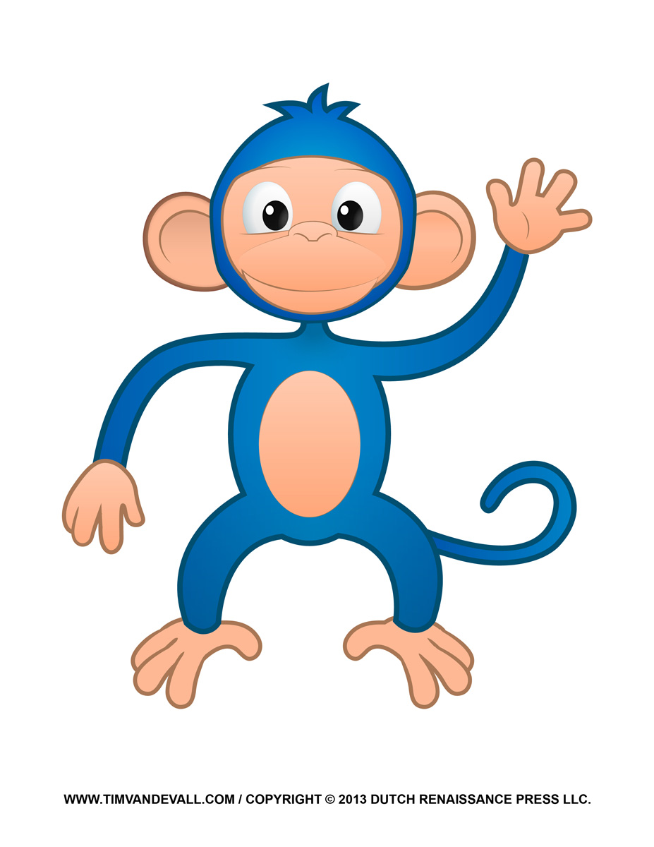 927x1200 Cute Girl Monkey Clip Art. Swimming Wallpaper