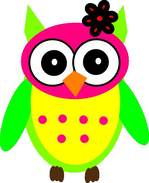 486x597 She Owl Clip Art