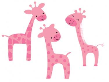 375x282 Top 91 Giraffe Clipart