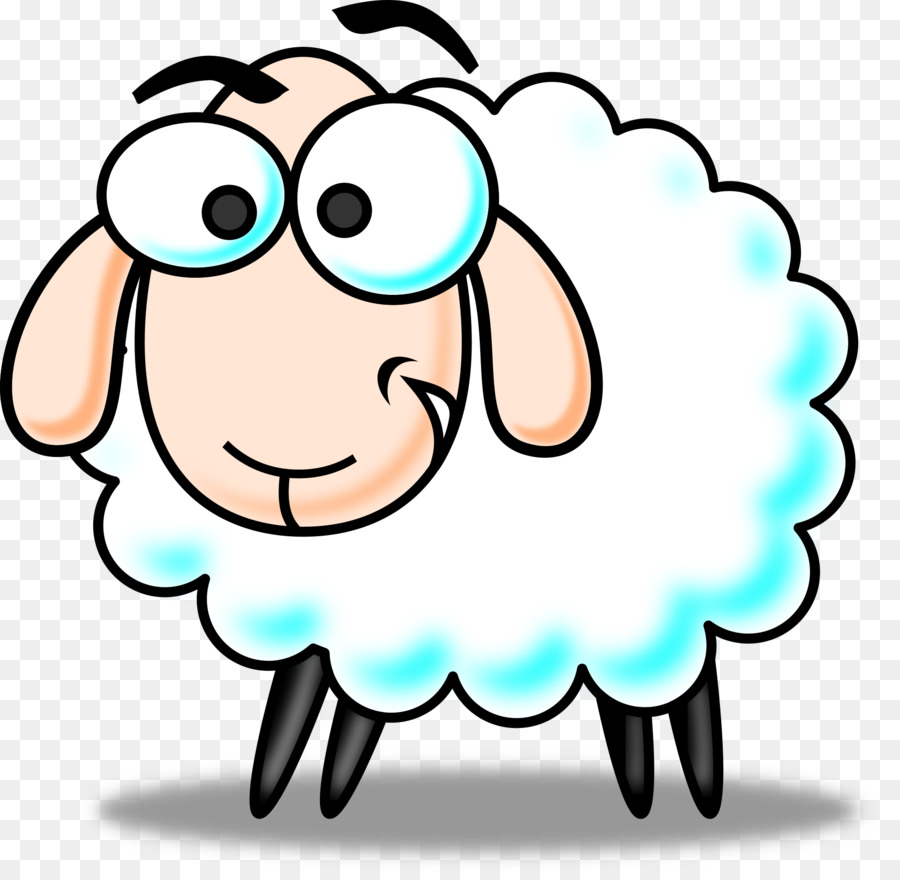 900x880 Sheep Cartoon Clip Art